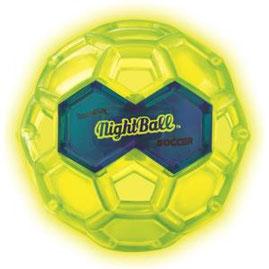 Ballon de football lumineux Tangle pour jouer de nuit. Ballon qui s'éclaire la nuit tangle nightball à acheter pas cher.