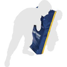 Bouclier de rugby de protection de marque Sarneige. Bouclier en mousse pour jouer au rugby Sarneige.