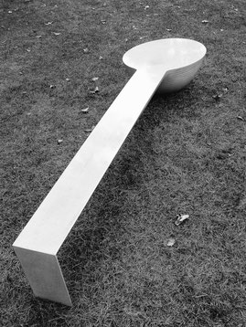 "TABLE BASSE ""UFO"" 2009  ( L  2.50m)"