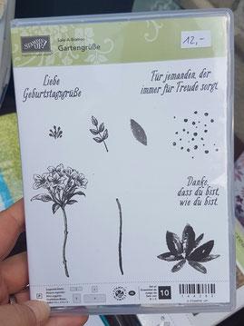 "Stempelset ""Gartengrüße"" (NEU), Preis: 10 Euro"
