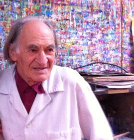 Arno Stern kurz vor seinem 90. Geburtstag (2014)