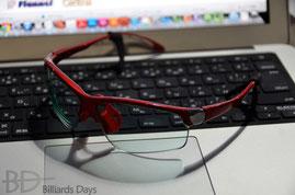 野内プロのメガネ。adidas