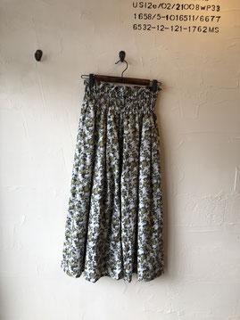花柄スカート 8900