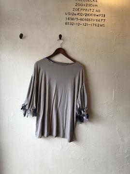 ひらひら袖のカットソー7900