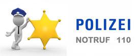 Polizei # Notruf # 110