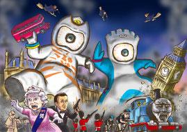 2012ロンドン五輪マスコット