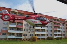 Hubschrauber Bernburg
