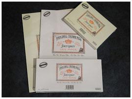 klassisch hergestellte Briefpapiere