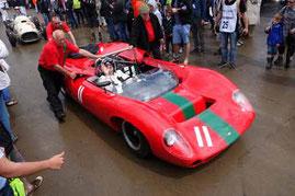 Sir John Surtees in Lola T70