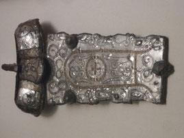 Plaque-Boucle « de Bucey-en-Othe » déposée au Musée d'Archéologie de Saint-Germain-en-Laye ( Travaux de Monsieur Cédric Le Provost)