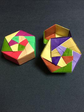 折り紙教室の作品