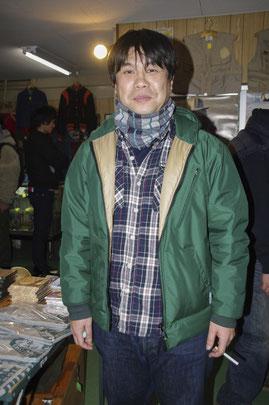 「ロットン」永田(兄)店長。プロレス好き