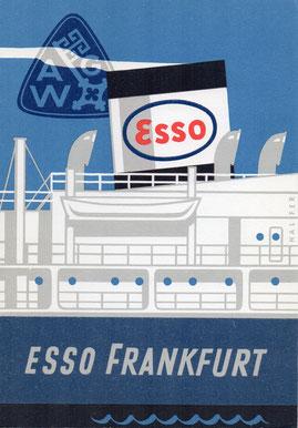 Stapellaufgedicht Esso Frankfurt