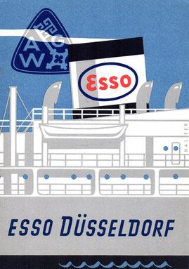 Stapellaufgedicht Esso Düsseldorf
