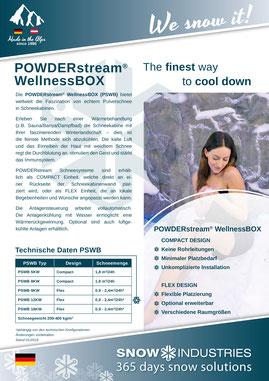 Produkt-Info POWDERstream® WellnessBOX