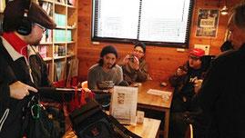 秋田市 カフェ ローカループ_AAB朝日放送_「き・ず・な」のカタチ3