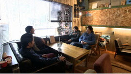 秋田市 カフェ ローカループ_AAB朝日放送_「き・ず・な」のカタチ4