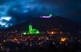 Stadtillumination Illumination Stadt Homberg (Efze)
