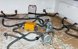Technische Trocknung nach Wasserschaden (1)