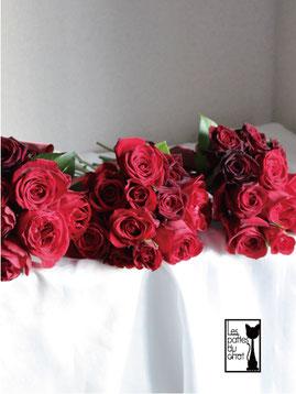 赤バラのシェアブーケ