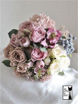 造花のクラッチブーケ