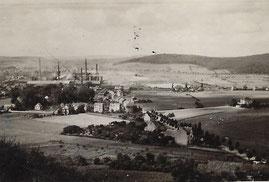 1942  Das Haus Providence steht alleine in der Wiesenstrasse