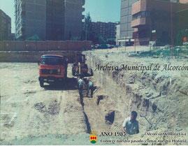 Construcción del centro de salud 1985