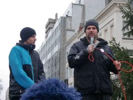 Ralf Seeger ist auch bei der Demo in Brüssel