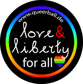 Logo Love&Liberty QueerBall Hamburg (Copy by Denise Lau)
