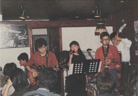 九州大学ジャズ研究会のみなさん。
