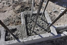 Stahlbetonsäulen