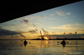 屋久島カヤックツアー,半日ツアー,半日過ごし方,ガイドおすすめ早朝プラン