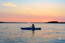 東向きに河口がある安房川,屋久島カヤック,半日ツアー,半日過ごし方,カヌーツアー