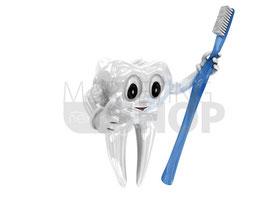 Kinderzahnheilkunde Zahnmännchen Grafik 1