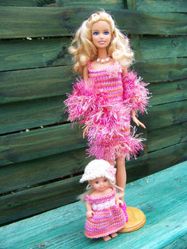 Barbie et Shelly demoiselles d'honneur