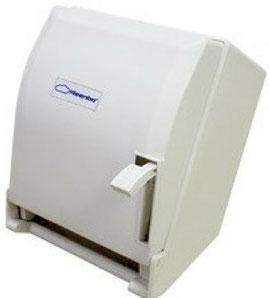 Toallero, Dispensador o Despachador de Toalla en Rollo. Toallero Palanca Matic TP51000. Color: Blanco Dimensiones en milímetros: Alto: 365 Largo: 285 Ancho: 245 Contenido por caja: 1 pieza