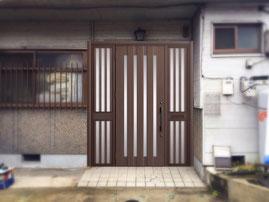 リシェント玄関ドア両袖片開きC12型