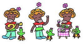 MEXICAN ビーフ キャラクター(プレゼン)