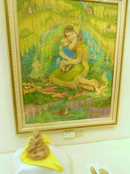 飛んでるベイビー  炎と楽園のアート   立花雪   YukiTachibana