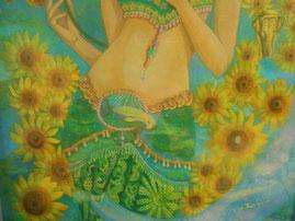 美術家立花雪 YukiTachibana Sun flower