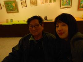 夢狂と雪 Mukyo Kobayashi  YukiTachibana 炎と楽園のアート 作品展