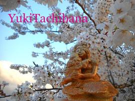 飛んでるベイビー 楽々土像 陶芸 立花雪 YukiTachibana