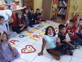 """Freizeitprogramm """"Los Quinchos"""" für Kinder und Jugendliche , Jan. 2021 bei CECIM."""