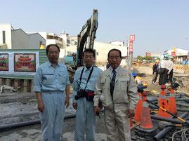 今回の地震で最も話題になった高層集合住宅の倒壊現場