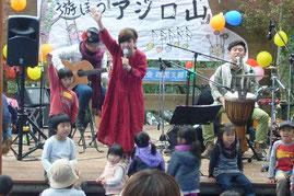 高知で活躍中のビスコッティによる森の音楽祭