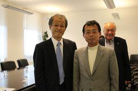 日本大使館の竹歳誠大使を表敬訪問
