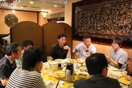 中華街にて飲茶
