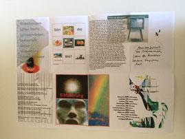 Collage aus verschiedenen Bildern und Texten