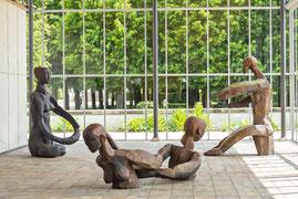 Gordian XI, 2010, Bronze, 338x170x160cm