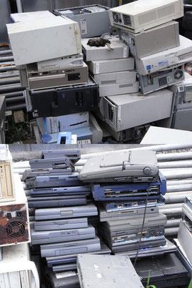 牛久市のPC処分 回収 リサイクル